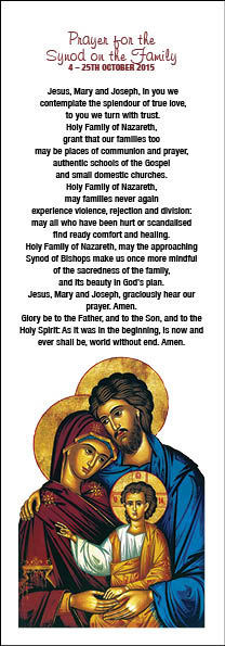 Prayer for the Synod - single
