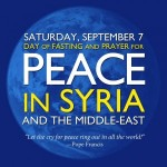 Day of Fasting for Peace in Syria